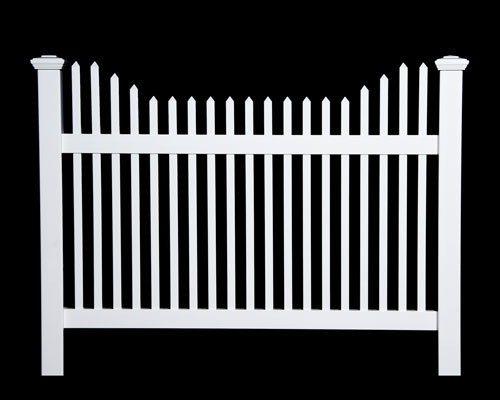 Classic Stepped Top Picket