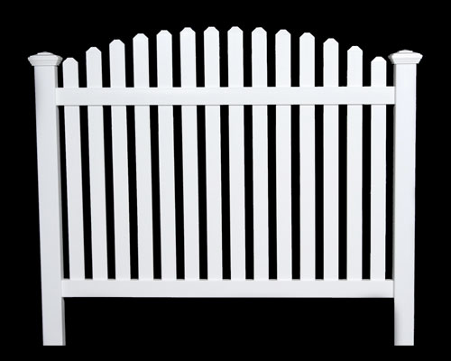 Contemporary Arched Picket